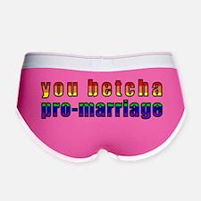 you_betcha Women's Boy Brief