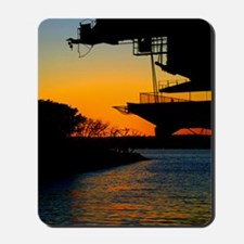"""Midway Sunset"" Mousepad"