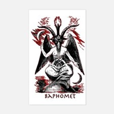 Baphomet Sticker (Rectangle)