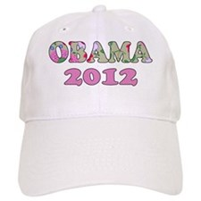 Obama2012Girlz Baseball Cap
