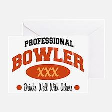 bowl70light Greeting Card