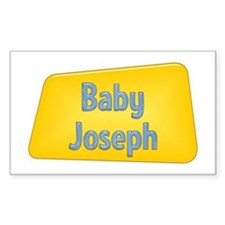 Baby Joseph Rectangle Decal