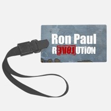 Ron Paul oval sticker Luggage Tag