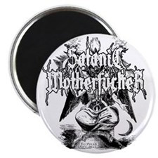 SATANIC-MF-WHITE Magnet