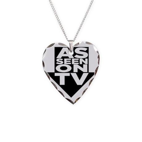 AsSeenOn Necklace Heart Charm