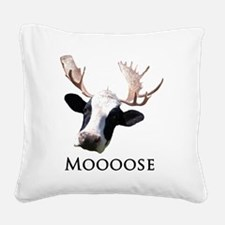 moooose.gif Square Canvas Pillow