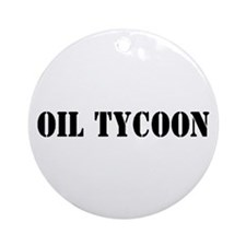 Oil Tycoon Ornament (Round)