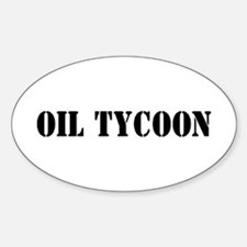 Oil Tycoon Oval Decal