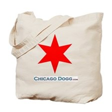 Chicago_Star_shirt_Front Tote Bag