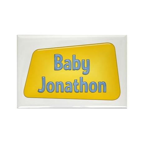 Baby Jonathon Rectangle Magnet