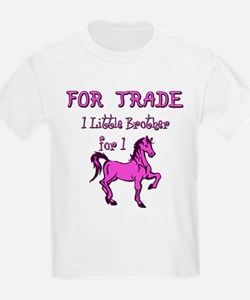 Little Brother For Trade Kids T-Shirt