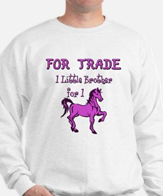 Little Brother For Trade Sweatshirt