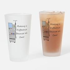 Dialysis 3 Drinking Glass