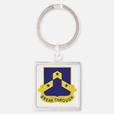 117th Infantry Regiment Square Keychain