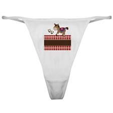Western Horse iphone 3G Classic Thong