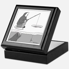 Ice Fishing Keepsake Box