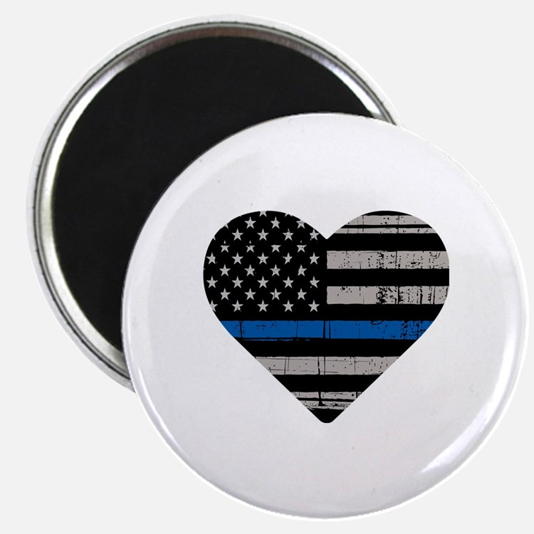 Cute The thin blue line Magnet
