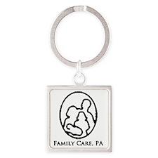 familycarelogobigger.gif Square Keychain