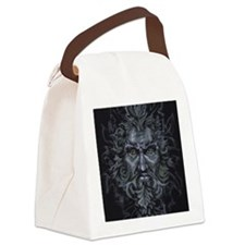 Green Man Canvas Lunch Bag