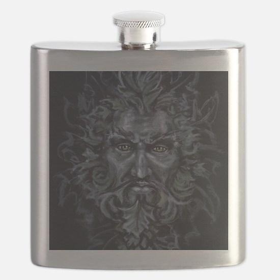 Green Man Flask
