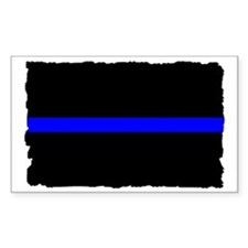 thin blue line rec 333333333 Decal