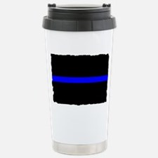 thin blue line rec 333333333 Travel Mug