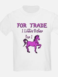 Little Sister for Trade Kids T-Shirt