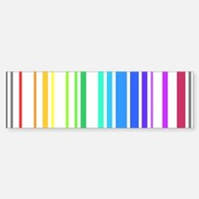 Gay Barcode Bumper Bumper Sticker