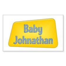 Baby Johnathan Rectangle Decal