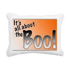 All About the Boo Rectangular Canvas Pillow