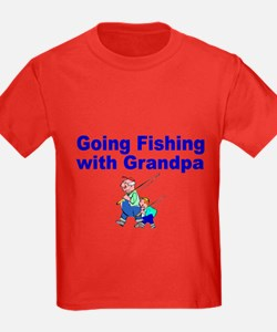 Going Fishing With Grandpa T-Shirt