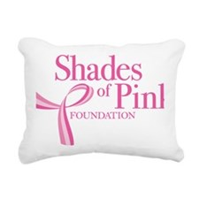 pinklogo bigger Rectangular Canvas Pillow