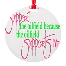 supports me Ornament