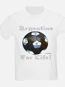 Argentine Soccer Fan 4 Life T-Shirt