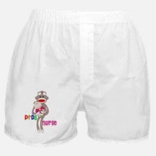 PEDS Nurse Sock Monkey 2011 Boxer Shorts