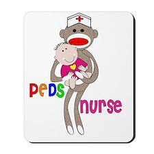 PEDS Nurse Sock Monkey 2011 Mousepad