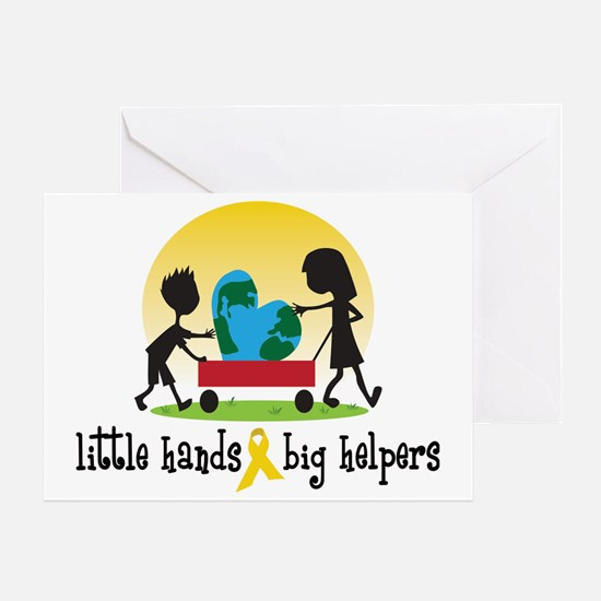 hr littleHands1 Greeting Card