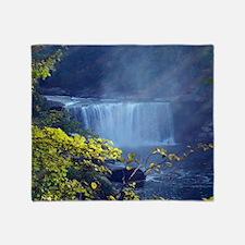 Cumberland Falls 3 Throw Blanket