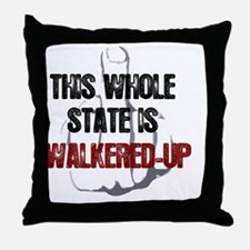 whole-state-is-walkered-up-FINGER1 Throw Pillow