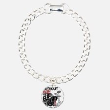 Without-Me-Band-Suckbk Charm Bracelet, One Charm