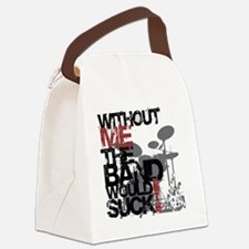Without-Me-Band-Suckbk Canvas Lunch Bag