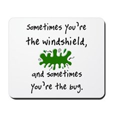 The Windshield & The Bug Mousepad