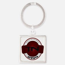 Tenth Pilgrimage Square Keychain