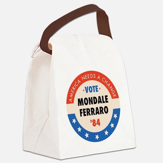 VOTEMONDALE_4000px Canvas Lunch Bag