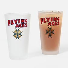 FAC_logo_ONE_4B_dark Drinking Glass