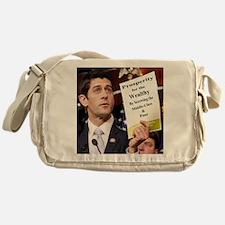 Paul Ryan Screw Working Class Budget Messenger Bag
