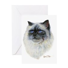 Birman Greeting Card