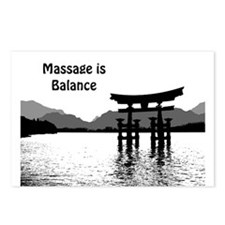 Massage is Balance Postcards (Package of 8)