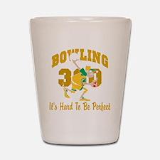 bowl67black Shot Glass