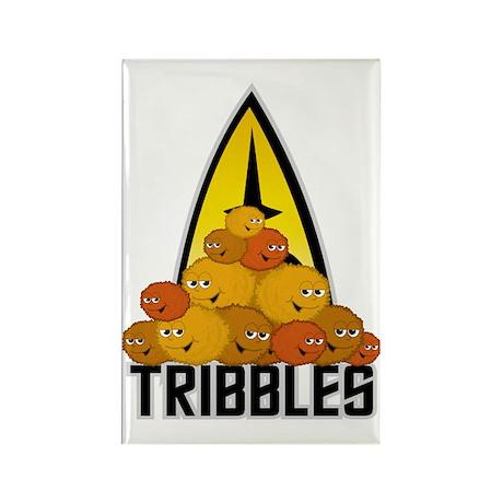 Star-Trek-Tribbles-2 Rectangle Magnet